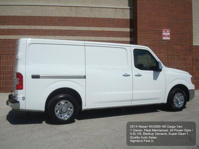 2014 Nissan NV Cargo 4x2 2500 HD SV 3dr Cargo Van (V6) - Highland Park IL