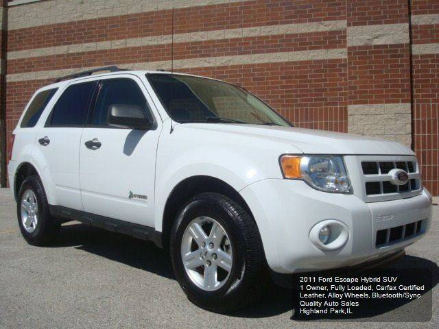 2011 Ford Escape Hybrid Limited 4dr SUV - Highland Park IL
