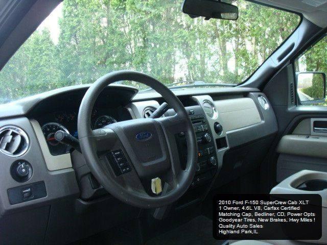 2010 Ford F-150 4x2 XLT 4dr SuperCrew Styleside 6.5 ft. SB - Highland Park IL