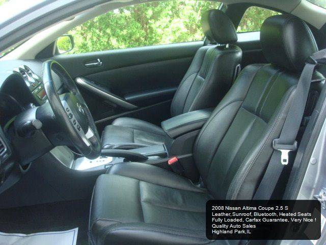 2008 Nissan Altima 2.5 S 2dr Coupe CVT - Highland Park IL