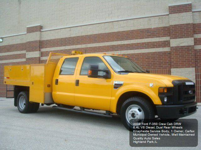 2008 Ford F-350 Super Duty XL 4dr Crew Cab LB RWD w/10K Package - Highland Park IL