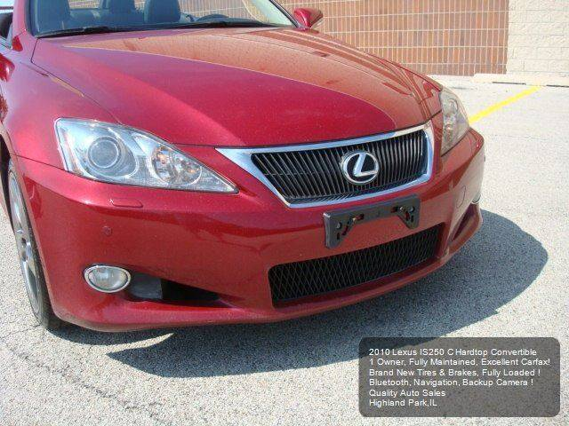 2010 Lexus IS 250C 2dr Convertible 6A - Highland Park IL