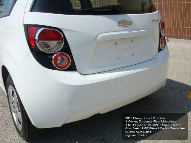2013 Chevrolet Sonic LS Auto 4dr Hatchback - Highland Park IL