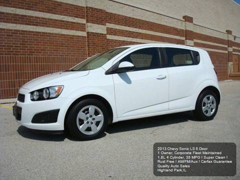 2013 Chevrolet Sonic for sale in Highland Park, IL