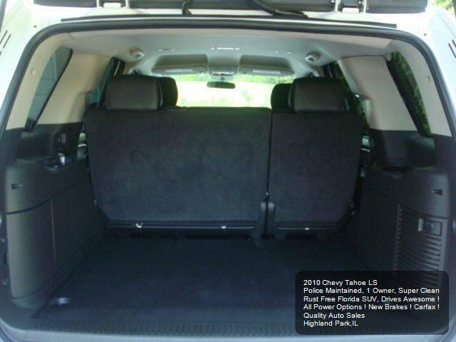 2010 Chevrolet Tahoe 4x2 LS 4dr SUV - Highland Park IL