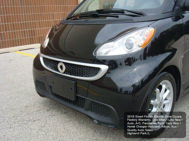 2016 Smart fortwo electric drive 2dr Hatchback - Highland Park IL
