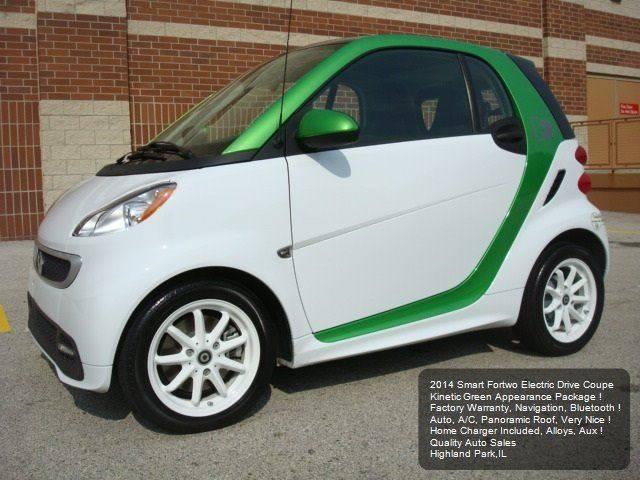 2014 Smart fortwo passion electric drive 2dr Hatchback - Highland Park IL