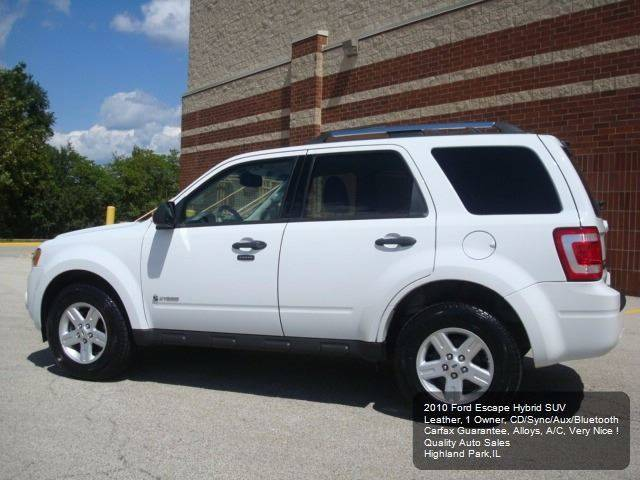 2010 Ford Escape Hybrid Limited Hybrid 4dr SUV - Highland Park IL
