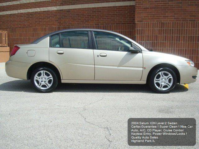 2004 Saturn Ion 2 4dr Sedan - Highland Park IL