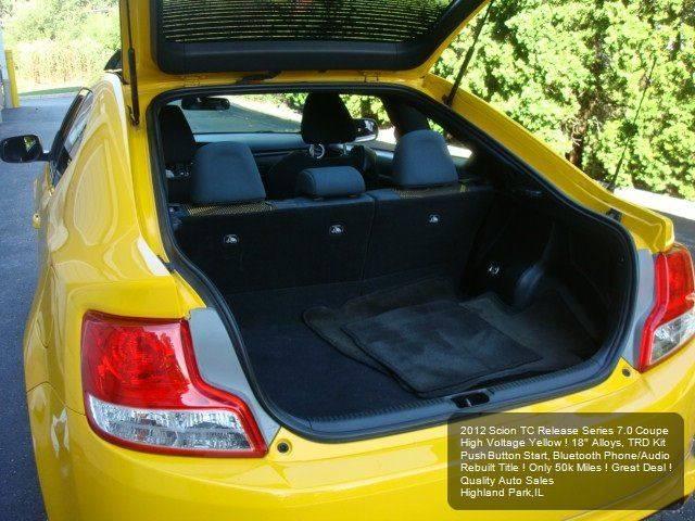 2012 Scion tC RS 7.0 2dr Coupe 6A - Highland Park IL