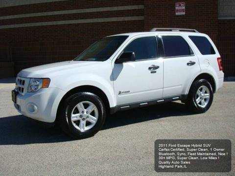 2011 Ford Escape Hybrid for sale in Highland Park, IL