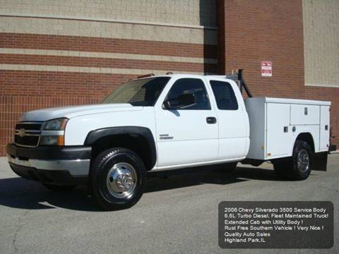 2006 Chevrolet Silverado 3500HD for sale in Highland Park, IL