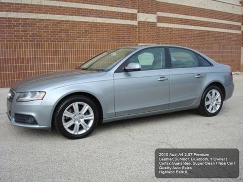 2010 Audi A4 for sale in Highland Park, IL