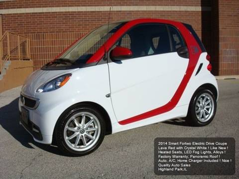2014 Smart fortwo for sale in Highland Park, IL
