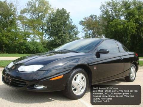 2002 Saturn S Series Sc2 3dr Coupe In Highland Park Il Quality