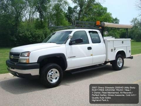 Used Chevy Silverado 2500 >> Used Chevrolet Silverado 2500hd Classic For Sale In Illinois
