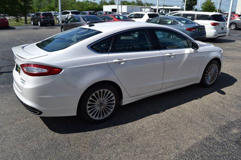 2016 Ford Fusion Titanium 4dr Sedan - Cincinnati OH