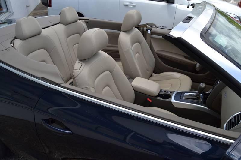 2011 Audi A5 AWD 2.0T quattro Premium 2dr Convertible - Cincinnati OH