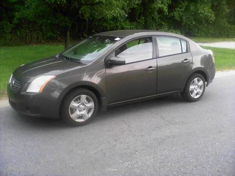 2007 Nissan Sentra for sale at Laurel Wholesale Motors in Laurel MD