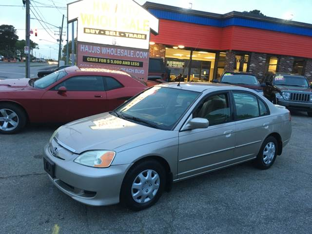 2003 Honda Civic Hybrid 4dr Sedan   Norfolk VA