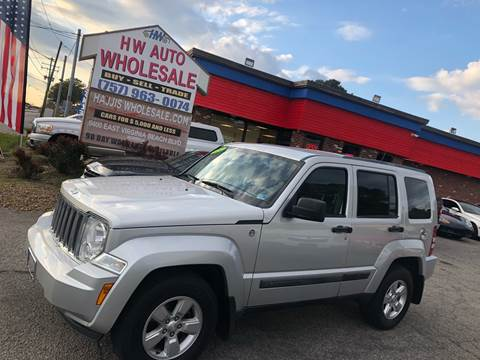 2012 Jeep Liberty Sport for sale at HW Auto Wholesale in Norfolk VA
