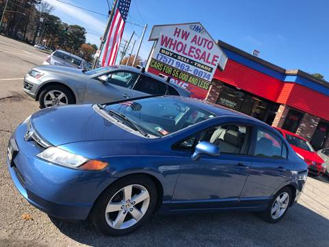 2008 Honda Civic EX-L for sale at HW Auto Wholesale in Norfolk VA