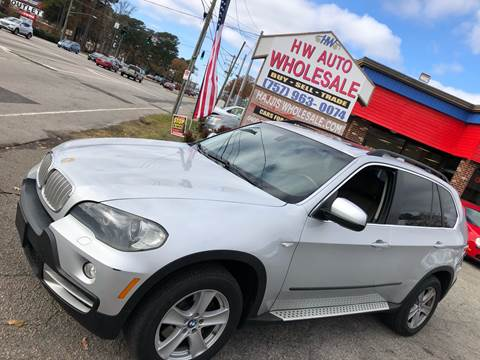 2008 BMW X5 4.8i for sale at HW Auto Wholesale in Norfolk VA