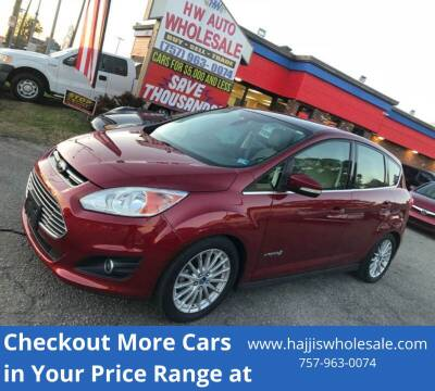 2013 Ford C-MAX Hybrid SEL for sale at HW Auto Wholesale in Norfolk VA