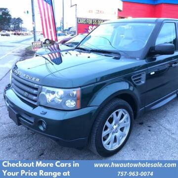 2009 Land Rover Range Rover Sport HSE for sale at HW Auto Wholesale in Norfolk VA