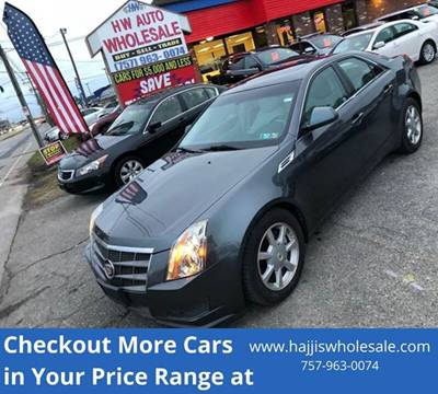 2008 Cadillac CTS 3.6L DI for sale at HW Auto Wholesale in Norfolk VA