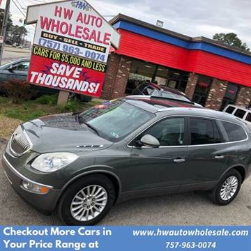 2011 Buick Enclave CXL-1 for sale at HW Auto Wholesale in Norfolk VA