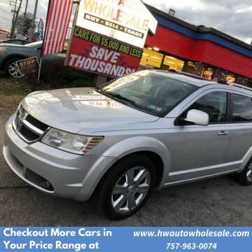 2009 Dodge Journey R/T for sale at HW Auto Wholesale in Norfolk VA