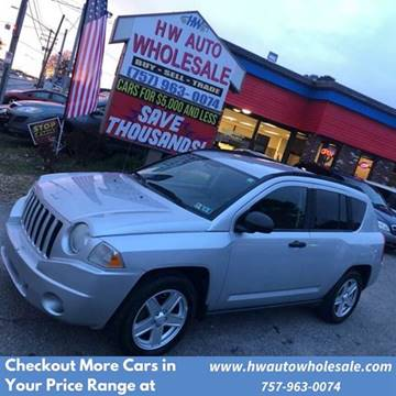 2007 Jeep Compass Sport for sale at HW Auto Wholesale in Norfolk VA