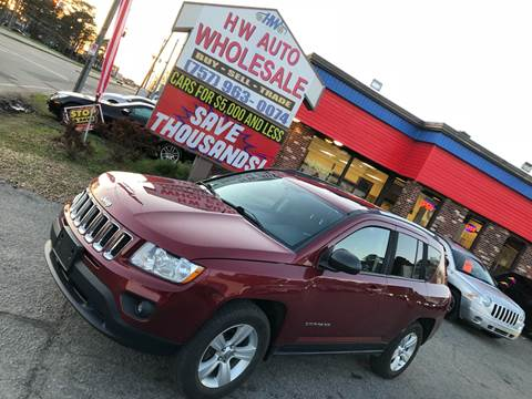 2013 Jeep Compass Latitude for sale at HW Auto Wholesale in Norfolk VA