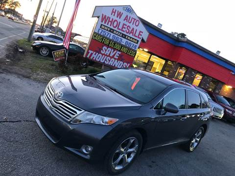 2009 Toyota Venza AWD V6 for sale at HW Auto Wholesale in Norfolk VA