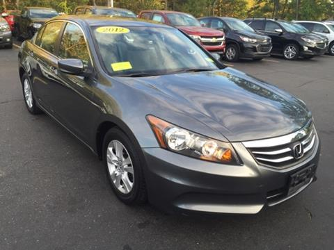 2012 Honda Accord for sale in Framingham, MA