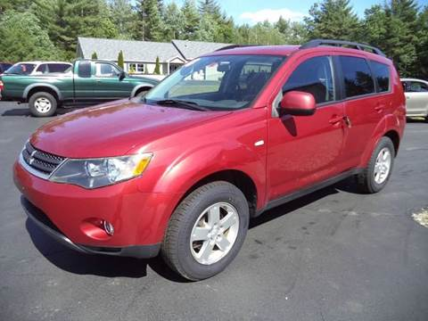 2008 Mitsubishi Outlander for sale in Chichester, NH