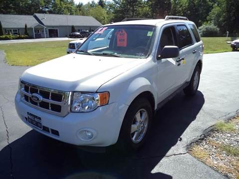 2011 Ford Escape for sale in Chichester, NH