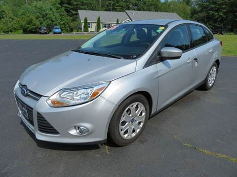 2012 Ford Focus for sale in Chichester, NH