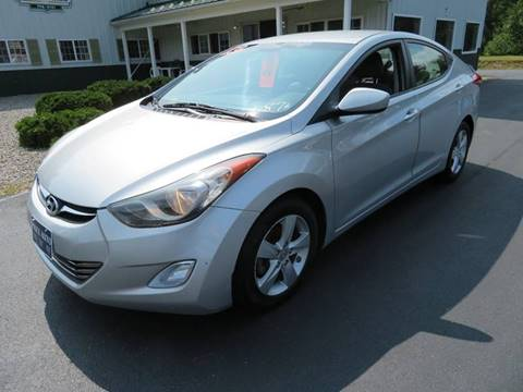 2013 Hyundai Elantra for sale in Chichester, NH