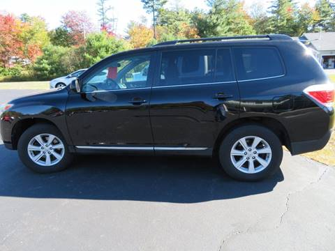 2011 Toyota Highlander for sale in Chichester, NH