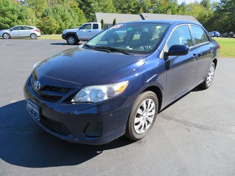 2012 Toyota Corolla for sale in Chichester, NH