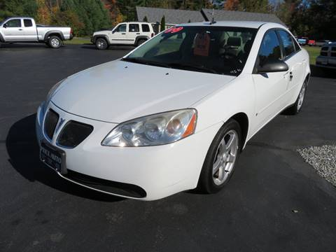 2009 Pontiac G6 for sale in Chichester, NH