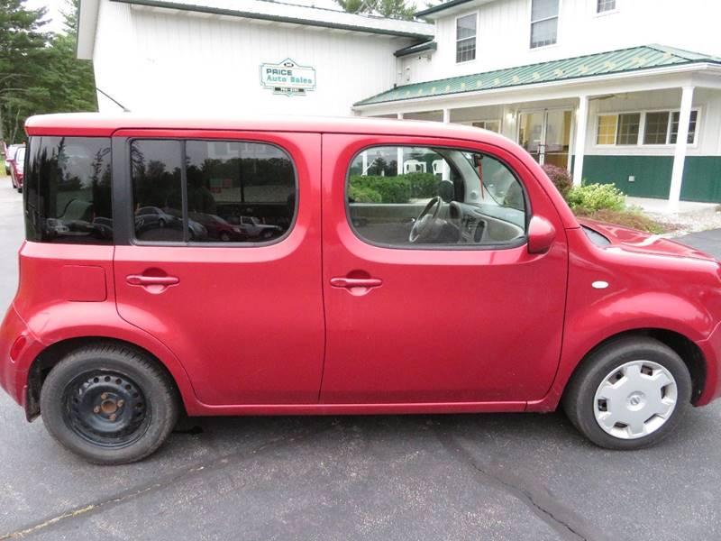 2010 Nissan Cube 1 8 S 4dr Wagon Cvt In Chichester Nh Price Auto
