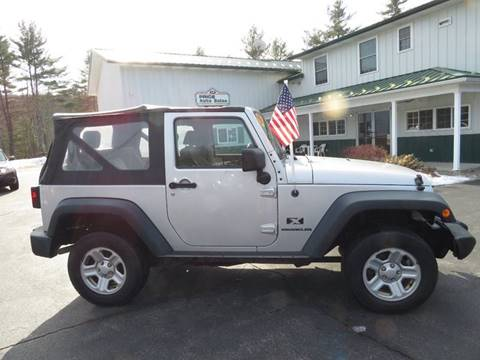 2009 Jeep Wrangler for sale in Chichester, NH