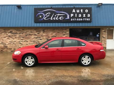 2012 Chevrolet Impala for sale at Elite Auto Plaza in Springfield IL