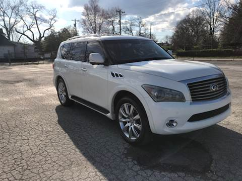 2012 Infiniti QX56 for sale at Eddie's Auto Sales in Jeffersonville IN