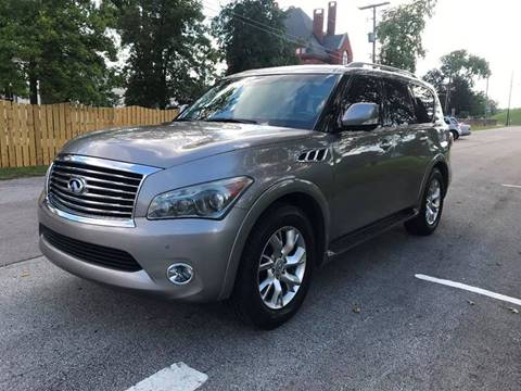 2011 Infiniti QX56 for sale at Eddies Auto Sales in Jeffersonville IN