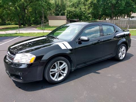 2013 Dodge Avenger for sale at Eddies Auto Sales in Jeffersonville IN