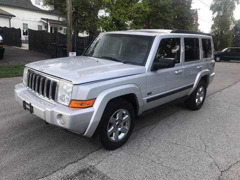 2007 Jeep Commander for sale at Eddies Auto Sales in Jeffersonville IN